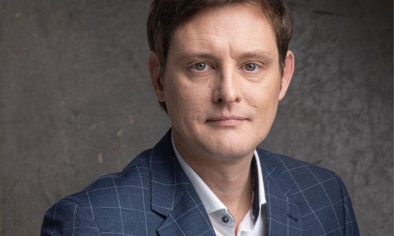 """""""INK agency"""" neseniai įsteigtam komunikacijos krizių valdymo padaliniui vadovaus Giedrius Galdikas. Asmen. nuotr."""