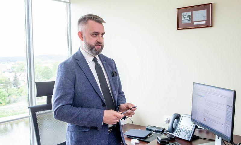 """Michalas Rudnickis, AB """"Orlen Lietuva"""" generalinis direktorius. Juditos Grigelytės (VŽ) nuotr."""