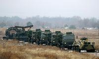 Kijevas teigia, kad prie Ukrainos sutelkta 110.000 Rusijos karių