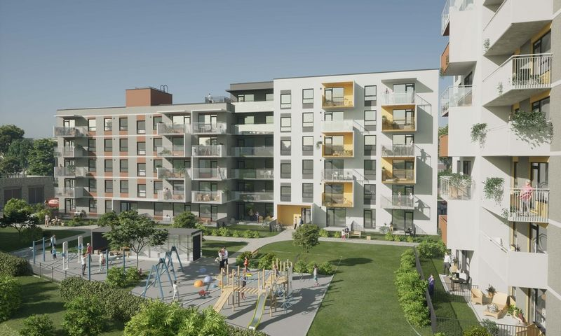 Projektas sostinės Vilkpedėje. Bendrovės vizualizacija.