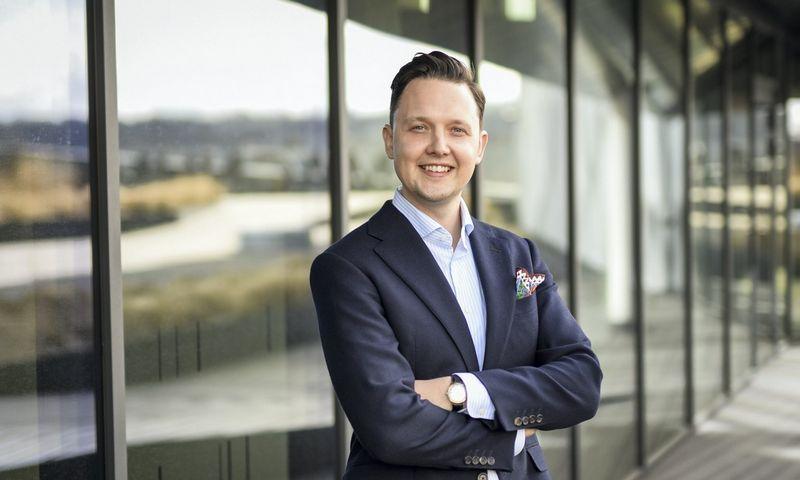 """Deividas Trainavičius, saulės technologijų ir programinės įrangos startuolio """"PVcase"""" vadovas."""