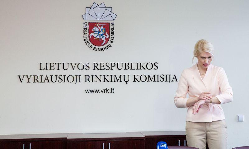 Vyriausiosios rinkimų komisijos pirmininkės L. Matjošaitytės ketverių metų kadencija baigiasi šiemet gegužę. Juditos Grigelytės (VŽ) nuotr.