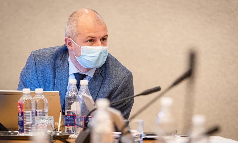 Simonas Gentvilas, aplinkos apsaugos ministras. Dariaus Janučio (LRVK) nuotr.