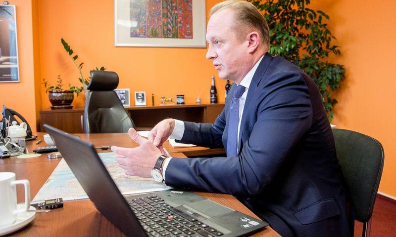 """Marekas Kuklis, UAB """"Bennet Distributors"""" generalinis direktorius. Juditos Grigelytės (VŽ) nuotr."""