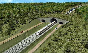 """Statomas """"Rail Baltica"""" geležinkelis: Europai svarbus infrastruktūrinis objektas"""
