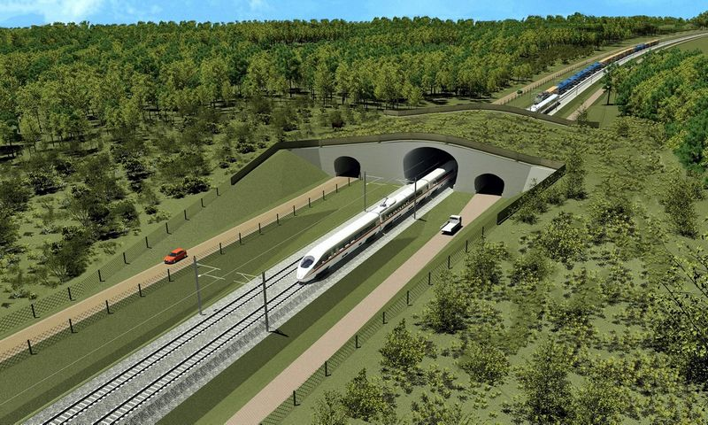 """""""Rail Baltica"""" – didžiausias geležinkelio infrastruktūros projektas Baltijos šalių istorijoje: geležinkelio linijos ilgis Baltijos šalyse siekia 870 km."""