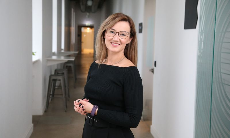 """Simona Andrijauskaitė, UAB """"Interactio"""" bendraįkūrėja, pardavimų ir marketingo vadovė. Vladimiro Ivanovo (VŽ) nuotr."""