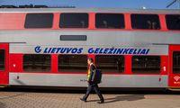 """""""Lietuvos geležinkelių"""" pajamos – 8% mažesnės nei prieš metus"""
