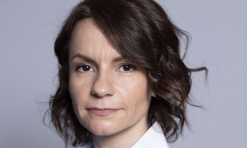 """Julija Lebedinska-Litvinova, """"Citadele"""" banko valdybos narė, atsakinga už rizikos valdymą. Bendrovės nuotr."""