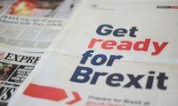 """""""Brexit"""" kaina dar po pandemijos debesimis, tačiau pirmieji ženklai nedžiugina"""