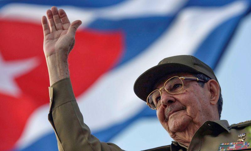 """Raulis Castro, Kubos komunistų partijos lyderis. Sven Creutzman (""""REUTERS"""" / """"Scanpix"""") nuotr."""