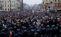 A. Navalno komanda ragina rusus balandžio 21-ąją išeiti į gatves protestuoti