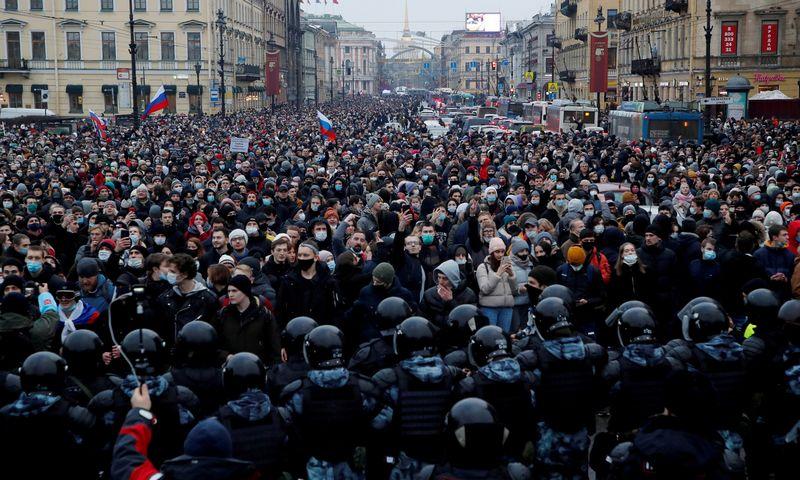 "Antono Vaganov (""Reuters"" / ""Scanpix"") nuotr."