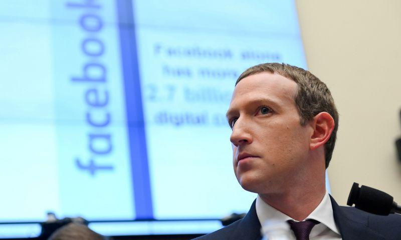 "Markas Zuckerbergas, ""Facebook"" įkūrėjas. Erin Scott (""Reuters"" / ""Scanpix"") nuotr."