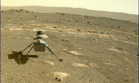 Pirmasis NASA sraigtasparnio skrydis Marse – sėkmingas
