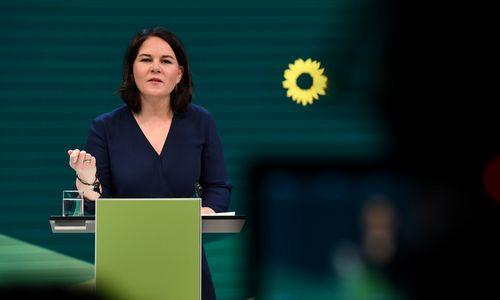 Vokietijos Žaliųjų partija pasirinko kandidatę į kanclerius