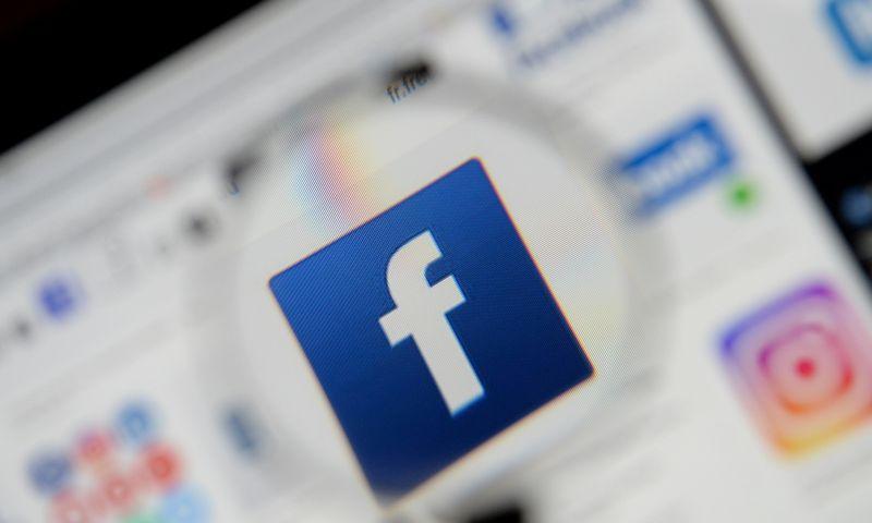 """Facebook"" logotipas. ""Reuters"" – ""Scanpix"" nuotr."