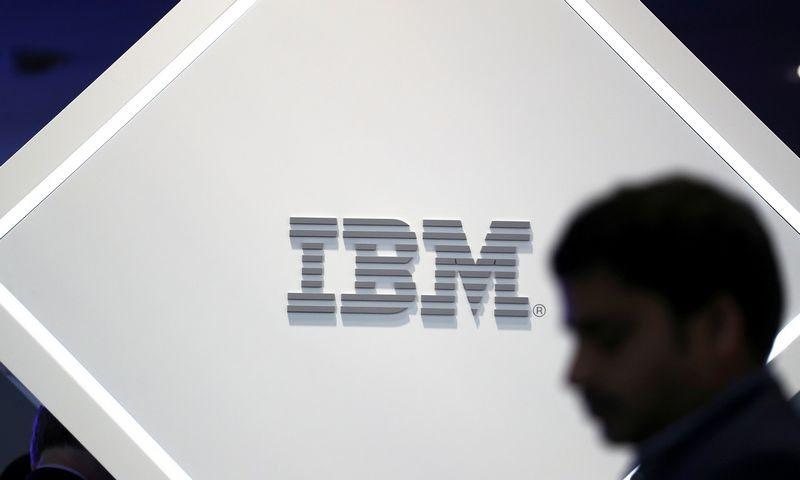"IBM logotipas. (Sergio Perez/""Reuters""- ""Scanpix"" nuotr.)"