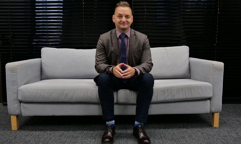 """Artūras Konusevičius """"EstateGuru OÜ"""" Lietuvos filialo vadovas. Vladimiro Ivanovo (VŽ) nuotr."""