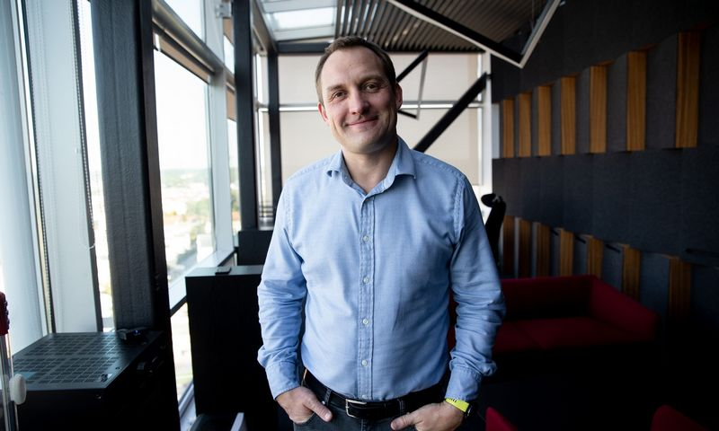 """Simonas Gustainis, UAB """"Baltcap"""" vadovas. Vladimiro Ivanovo (VŽ) nuotr."""