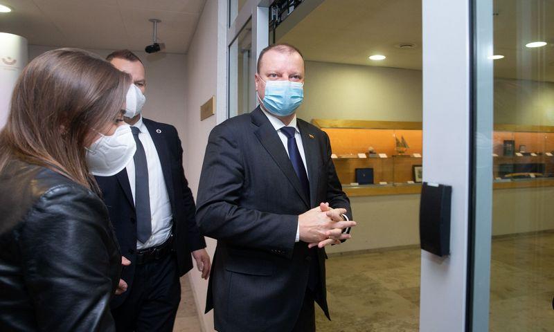 Saulius Skvernelis, Seimo opozicijos lyderis. Juditos Grigelytės (VŽ) nuotr.