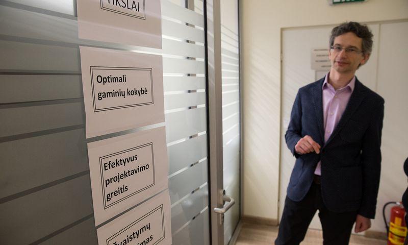 """Mindaugas Jonuškis, """"Novametos"""" direktorius ir akcininkas. Vladimiro Ivanovo (VŽ) nuotr."""