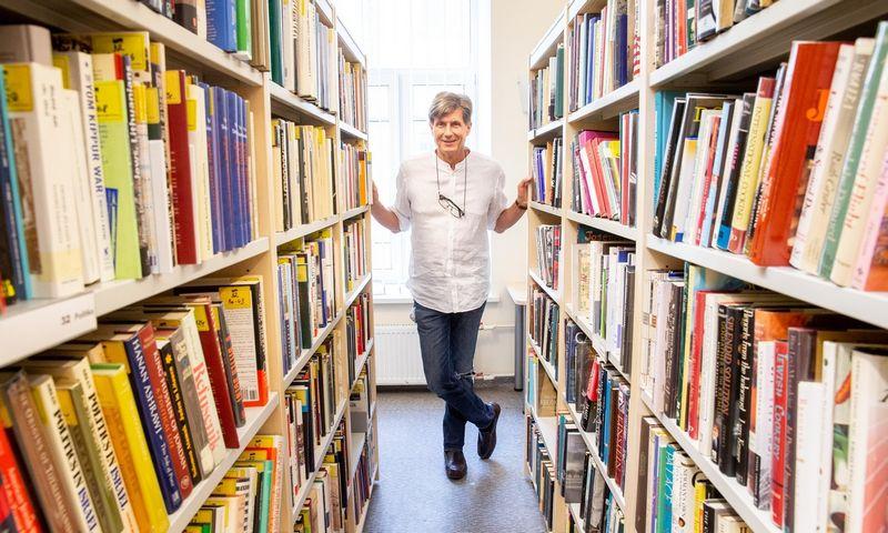 Žilvinas Beliauskas, Vilniaus žydų viešosios bibliotekos vedėjas. Juditos Grigelytės (VŽ) nuotr.