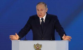 V. Putinas: Rusija pati spręs, kada peržengiamos raudonos linijos