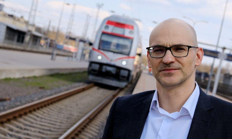 """Andrejus Kosiakovas, AB """"Lietuvos geležinkeliai"""" finansų direktorius. Vladimiro Ivanovo (VŽ) nuotr."""