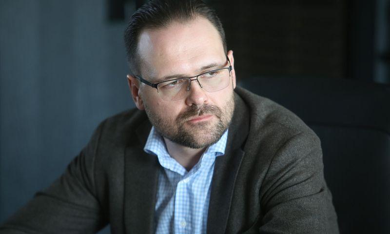 """Ilgametis įmonių grupės """"Icor"""" Komunikacijos departamento direktorius Nerijus Mikalajūnas įsteigė savo komunikacijos agentūrą. Vladimiro Ivanovo (VŽ) nuotr."""