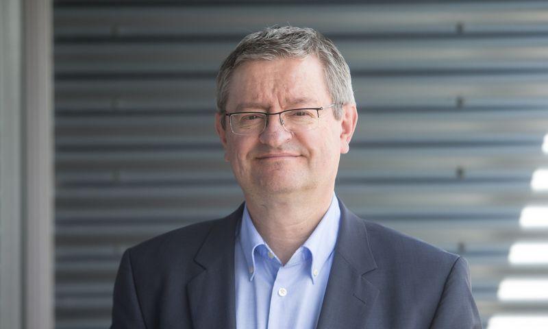 Rimas Varkulevičius, Lietuvos prekybos, pramonės ir amatų rūmų prezidentas. Juditos Grigelytės (VŽ) nuotr.