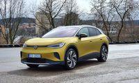 """""""Volkswagen ID.4"""" pelnė """"Pasaulio metų automobilio 2021"""" titulą"""