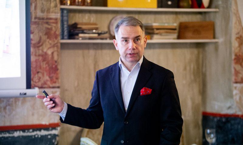 """Petras Masiulis, """"Tele2"""" vadovas Baltijos šalims ir Vokietijai. Vladimiro Ivanovo (VŽ) nuotr."""