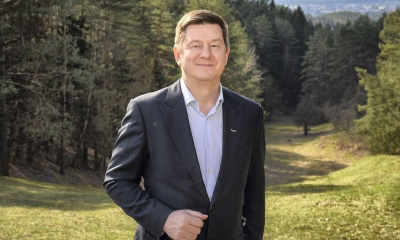 """Darijus Taraila """"Orkla Foods Lietuva"""" vadovas."""