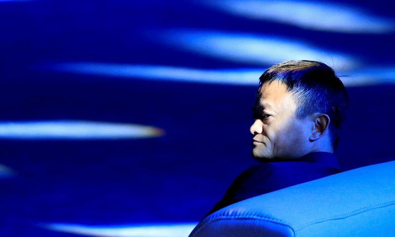 """Jackas Ma, """"Alibabos"""" didžiausias akcininkas. Aly Song (""""Reuters"""" / """"Scanpix"""") nuotr."""