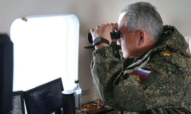 Sergejus Šoigu, Rusijos gynybos ministras. Scanpix nuotr.