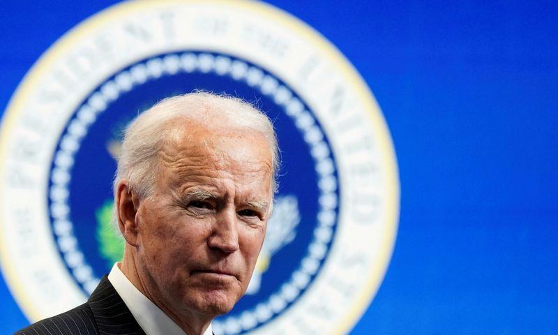"Joe Bidenas, JAV prezidentas. Kevino Lamarque (""Reuters"" / ""Scanpix"") nuotr."