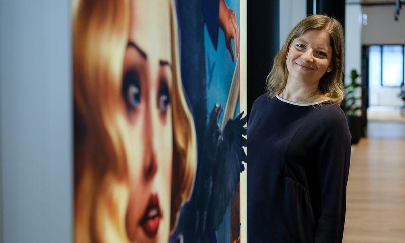 """Viktorija Trofimova, žaidimų kūrimo studijos """"Nordcurrent"""" vadovė. Vladimiro Ivanovo (VŽ) nuotr."""