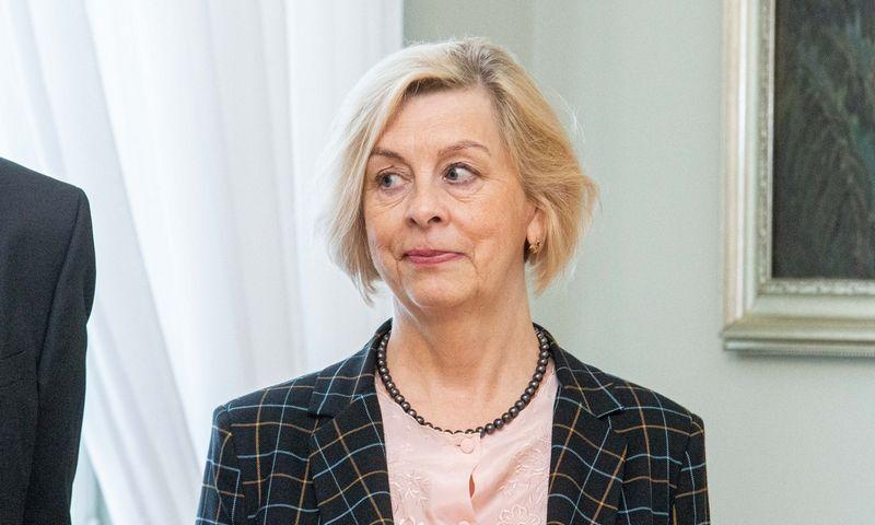 Dalia Matukienė, Lietuvos smulkiojo ir vidutinio verslo tarybos pirmininkė.  Juditos Grigelytės (VŽ) nuotr.