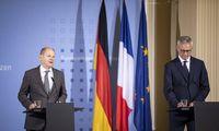 Vokietija ir Prancūzija remia ketinimus įvesti pasaulinį 21% pelno mokestį
