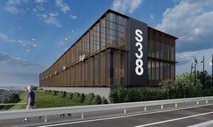 Prie Vilniaus Vakarinio aplinkkelio planuoja administracinį pastatą