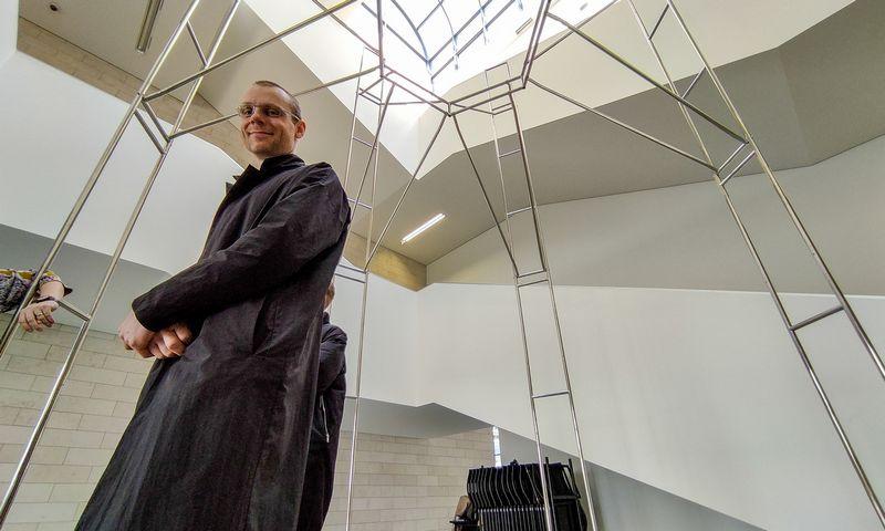 LEA įkūrėjas menininkas Julijonas Urbonas. Vladimiro Ivanovo (VŽ) nuotr.