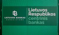 Lietuvos banko grąža iš finansinio turto – 0,1%