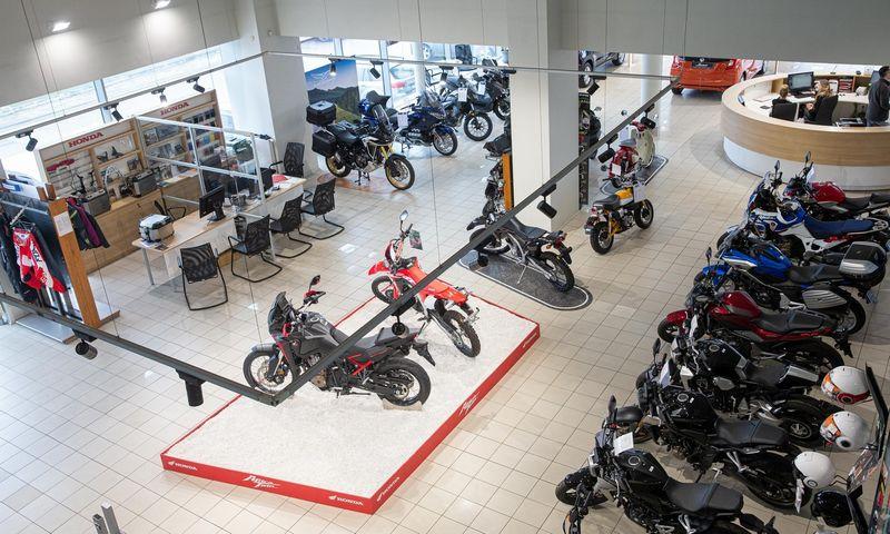 Supaprastinti reikalavimai norintiems vairuoti lengvuosius motociklus. Juditos Grigelytės (VŽ) nuotr.