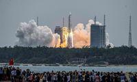 Kinija pradėjo kosminės stoties statybą