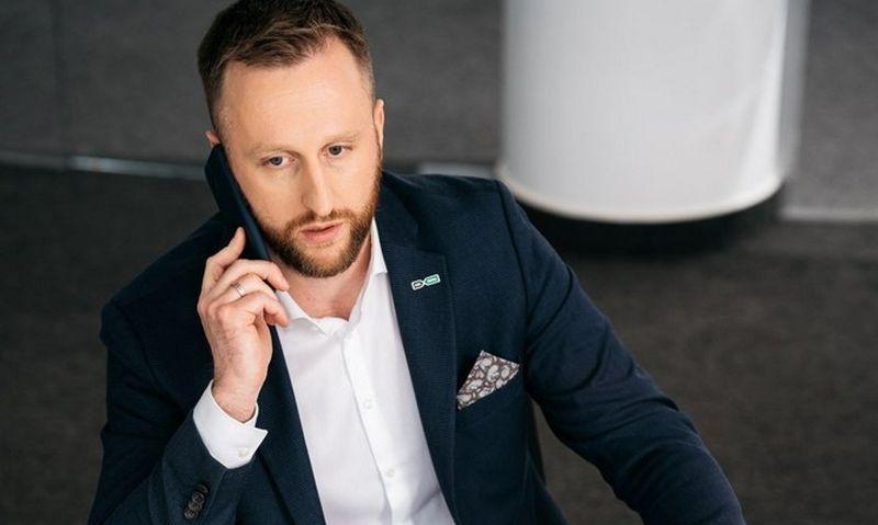 """Karolis Sankovski, AB """"LTG Infra"""" generalinis direktorius."""