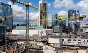 """D. Libeskindo """"Artery"""" statybos Vilniaus centre: sudėtingesnės, ilgesnės ir brangesnės nei planuota"""