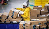 """""""Amazon"""" pelnas pirmąjį ketvirtį šoktelėjo daugiau nei 200%"""