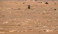 Marso sraigtasparnis bus naudojamas mėnesį ilgiau nei planuota