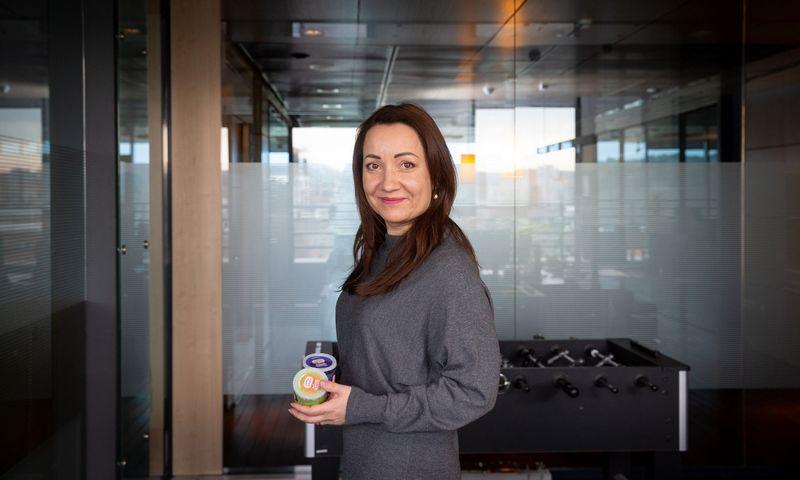 """Laura Kaziukonienė, UAB """"Geld Baltic"""", valdančios prekės ženklą """"Super Garden"""" direktorė. Juditos Grigelytės (VŽ) nuotr."""